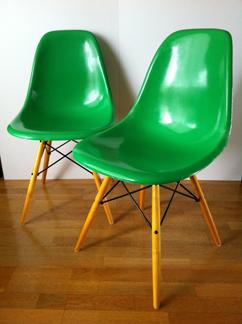 Vintage eames herman miller ghyczy garden egg chair 70 39 s - Eames fibre de verre ...